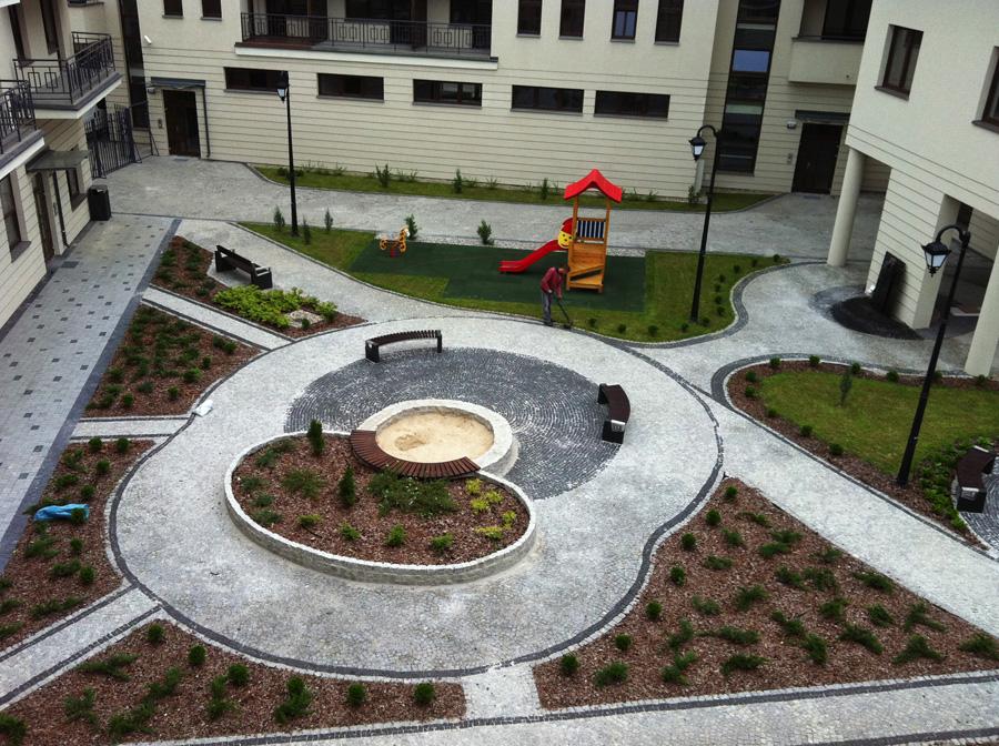 Aranżacja przestrzeni ogrodowej
