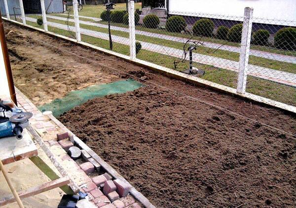 Montaż trawnika