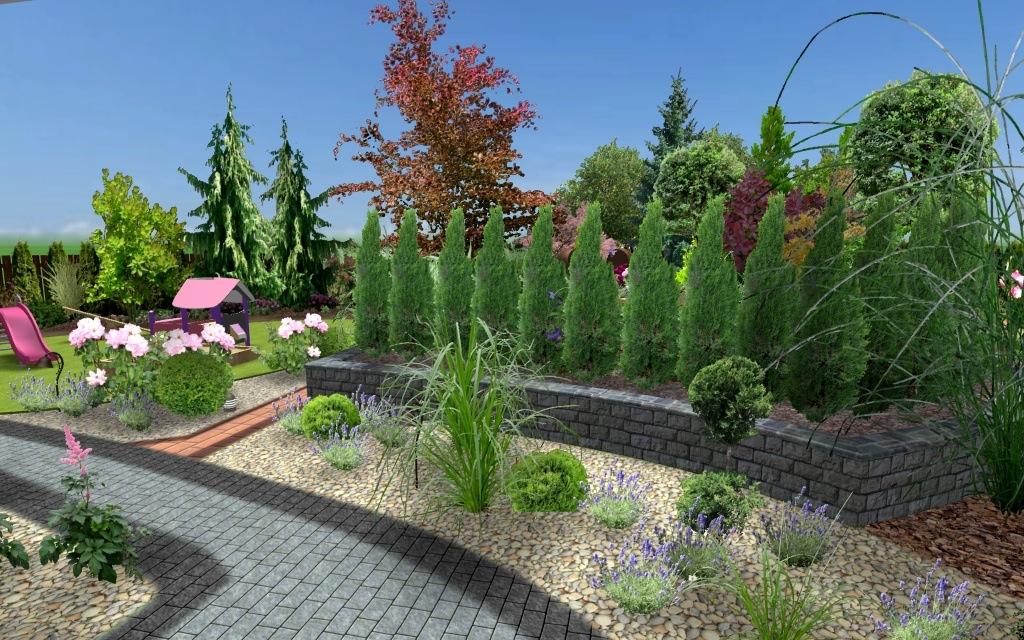 Projekt przestrzeni ogrodowej