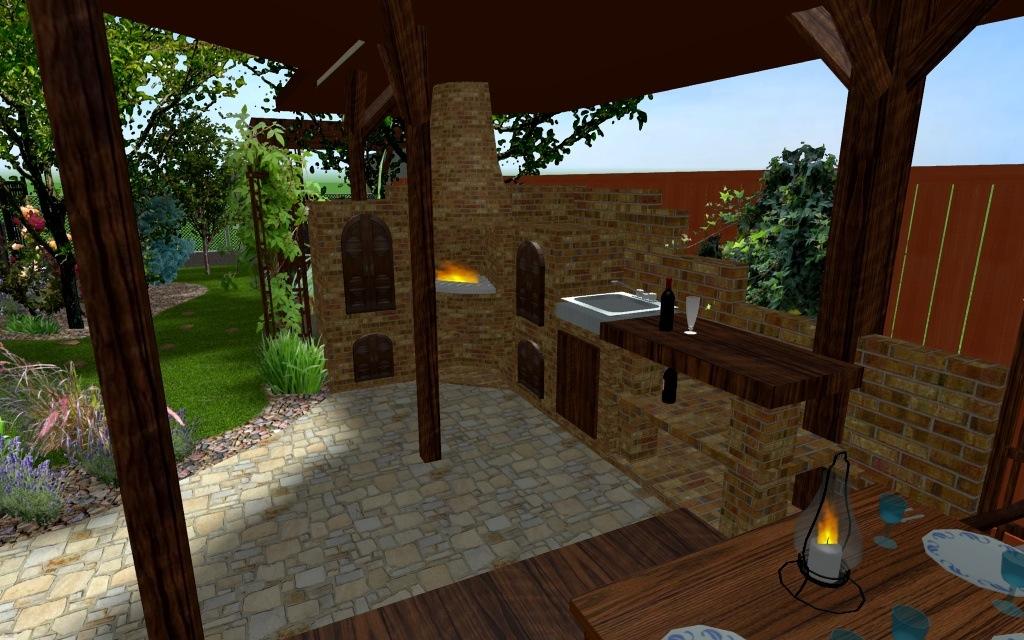 Bar ogrodowy