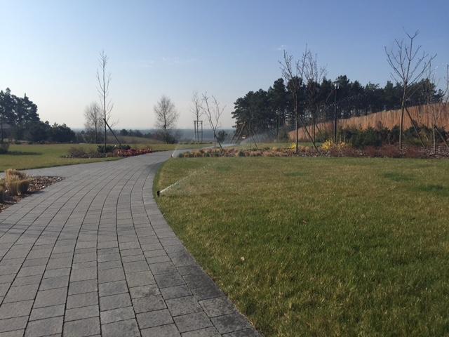 Automatyczne podlewanie trawnika