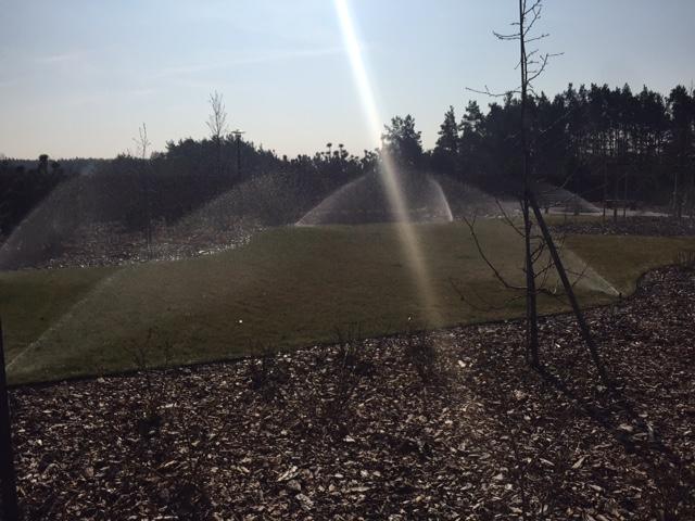 Ogrodowy system nawadniania