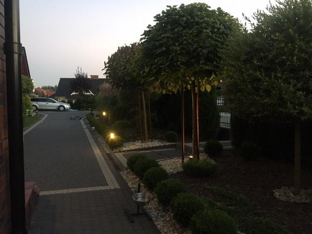 Montaż oświetlenia ogrodu